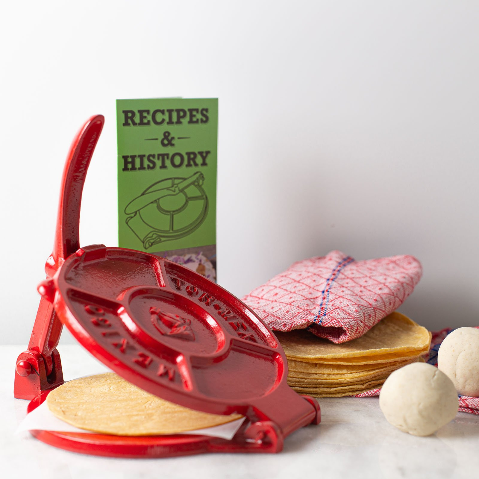 Cast Iron Tortilla Press Kit Cocina The Shop