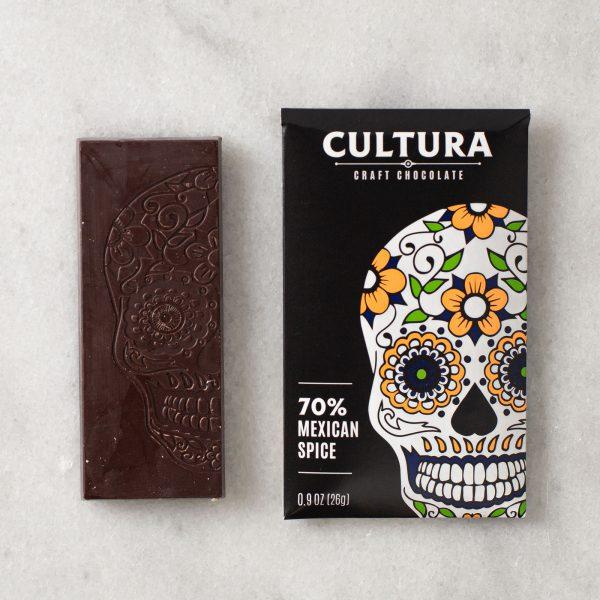 70% Mexican Spice Chocolate Cocina The Shop