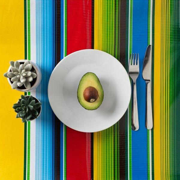 Mexican Party Square Tablecloth Cocina The Shop