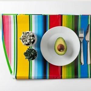 Mexican Party Round Tablecloth Cocina The Shop