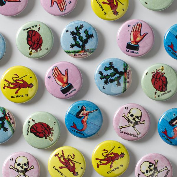 Loteria Cards Set of six 1″ Magnets Cocina The Shop