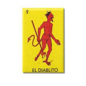 Diablo Loteria Game 2×3 Magnet