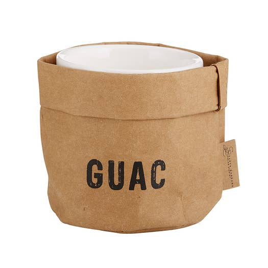Guac Holder and Ceramic Dish