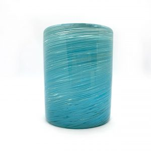Mexican Handblown Glasses – Aqua by Cocina
