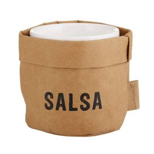 Salsa Holder and Ceramic Dish 1