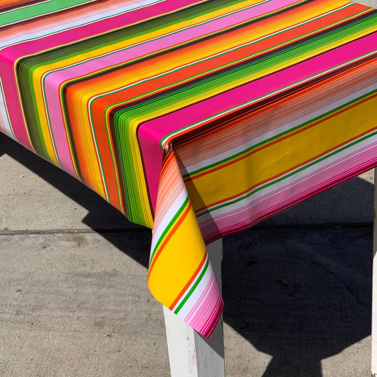 mexican tablecloth by Cocina