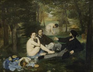 Luncheon on the Grass by Edouard Manet via Wikicommons