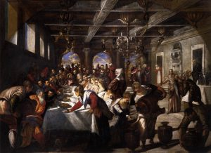 Marriage at Cana by Jacopo Tintoretto - via Wikicommons