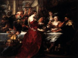 The Feast of Herod by Peter Paul Rubens
