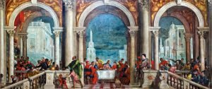 The Feast in the House of Levi by Paolo Veronese - via Wikicommons
