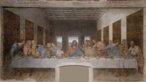 The Last Supper by Leonardo da Vinci - Via Wikicommons